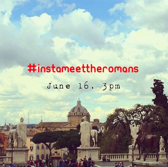 Supportiamo #meetTheRomans con SaveRome