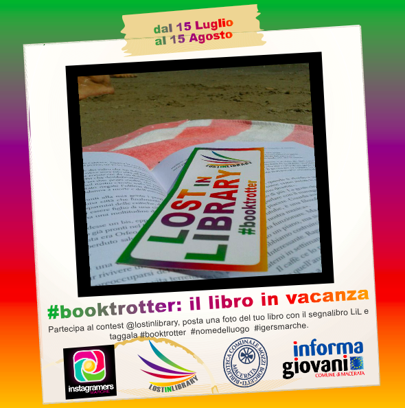 Lost in Library in vacanza, raccontaci con Instagram le tue vacanze #booktrotter