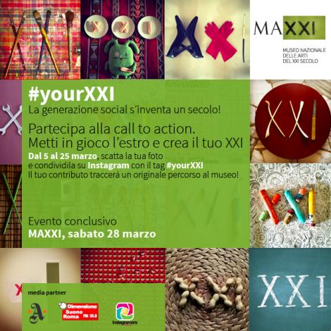 #YourXXI: la generazione social s'inventa un secolo