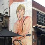Trump nudo, Melbourne, @lushsux
