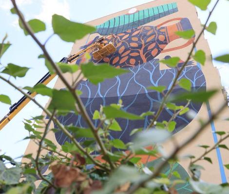 """FestiWall: la street art nel """"Selvaggio"""" di Ragusa"""