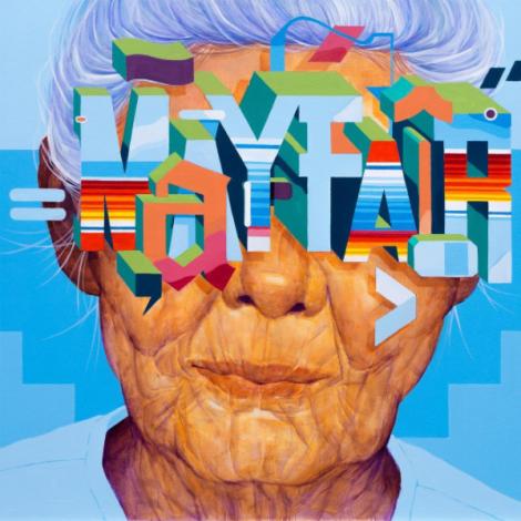 Sam Rodriguez: street art tra font, lettering e volti
