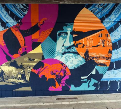 Parma Street View: omaggio a Giuseppe Verdi, alla Natura, alla Resistenza