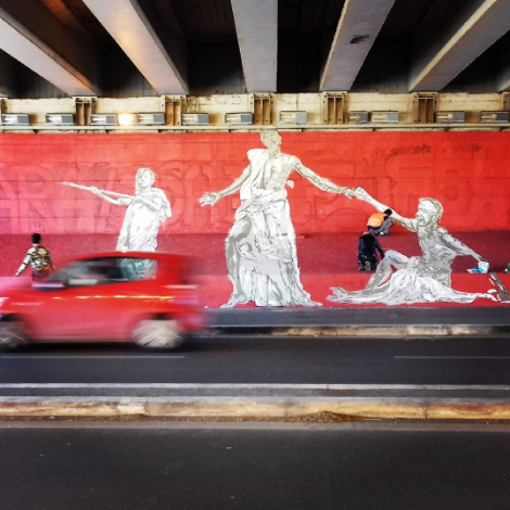 GRAart: la street art percorre il Grande Raccordo Anulare