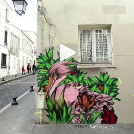 I vostri murales preferiti si animano con #Streethackbyradar