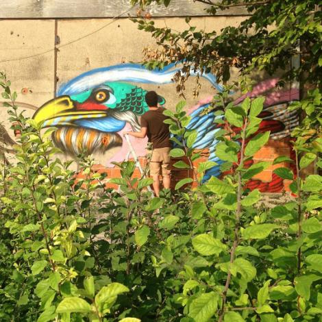 Armonia, animali e natura: la street art di Mateus Bailon