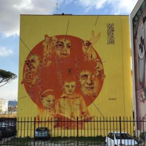 L'opera di Mattia Campo dall'Orto, ph. @principe23_esimo