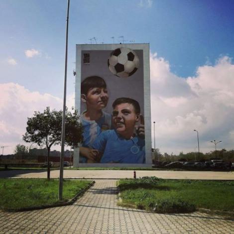 #StreetArt: viaggio tra i murales di Ponticelli