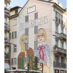 Gucci Art Wall a Milano, di Angelica Hicks, ph. @gucci