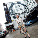 Il primo murales del Gucci Art Wall, a Soho, NY, di Jayde Fish, ph. @mrsjaydefish