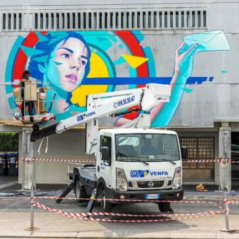 Poste Italiane: nuovo look con la Street Art