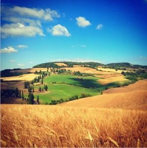 Una delle strade più fotografate di tutta la Toscana!