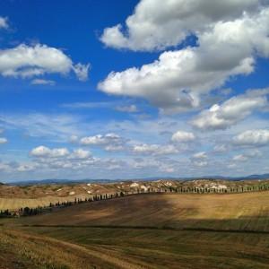 La Strada dei Leonina vista dalla Lauretana