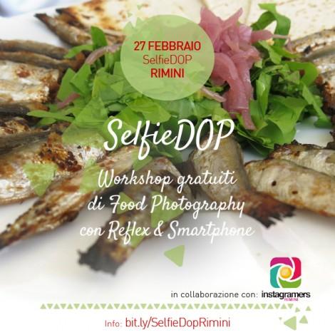 #SelfieDOP con gli Instagramers Rimini tra piade e sardoncini