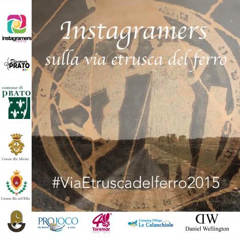 Instagramers pratesi sulla via etrusca del ferro