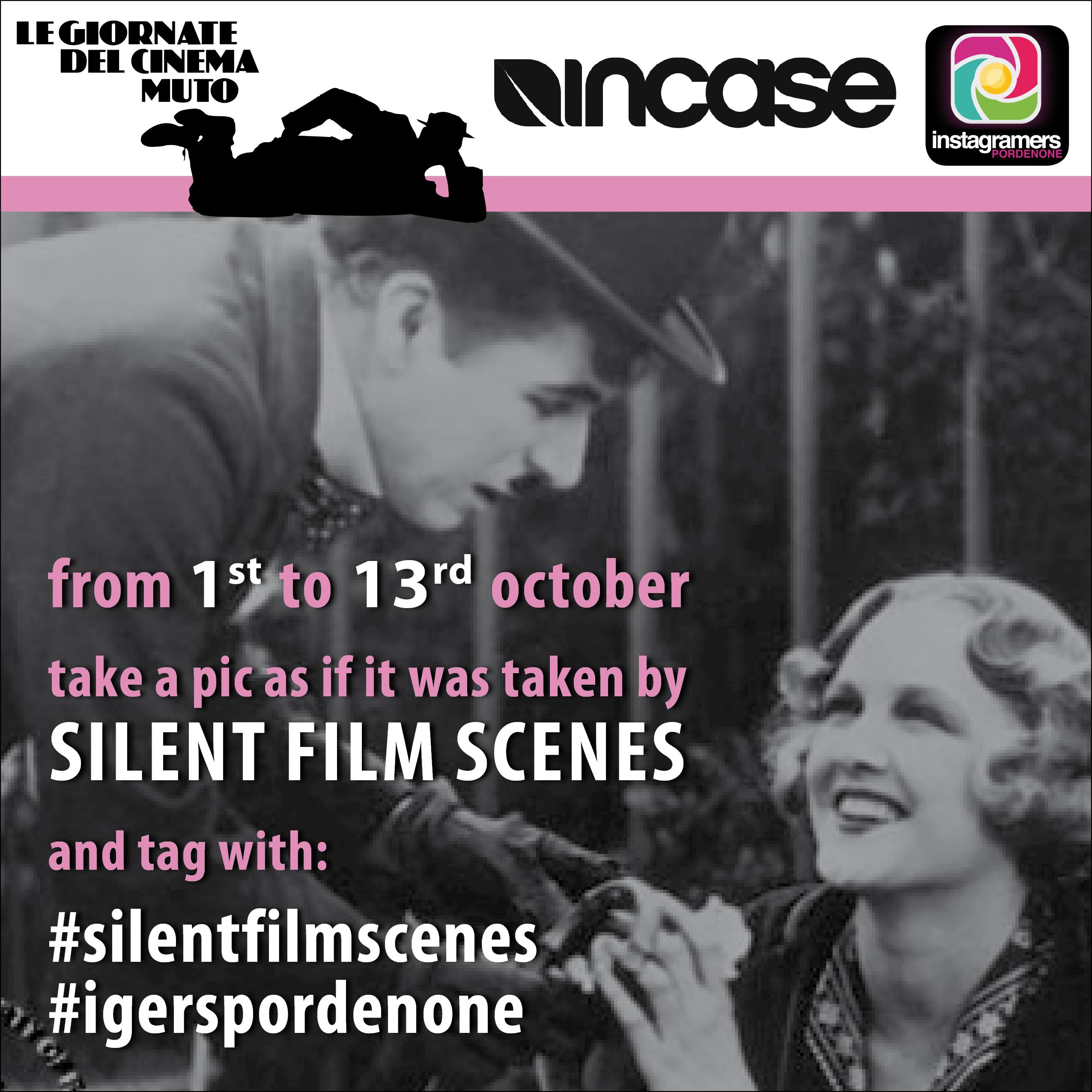 SilentFilmScenes con IgersPordenone
