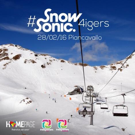 Instagramers sulla neve: Snow Sonic Festival a Piancavallo