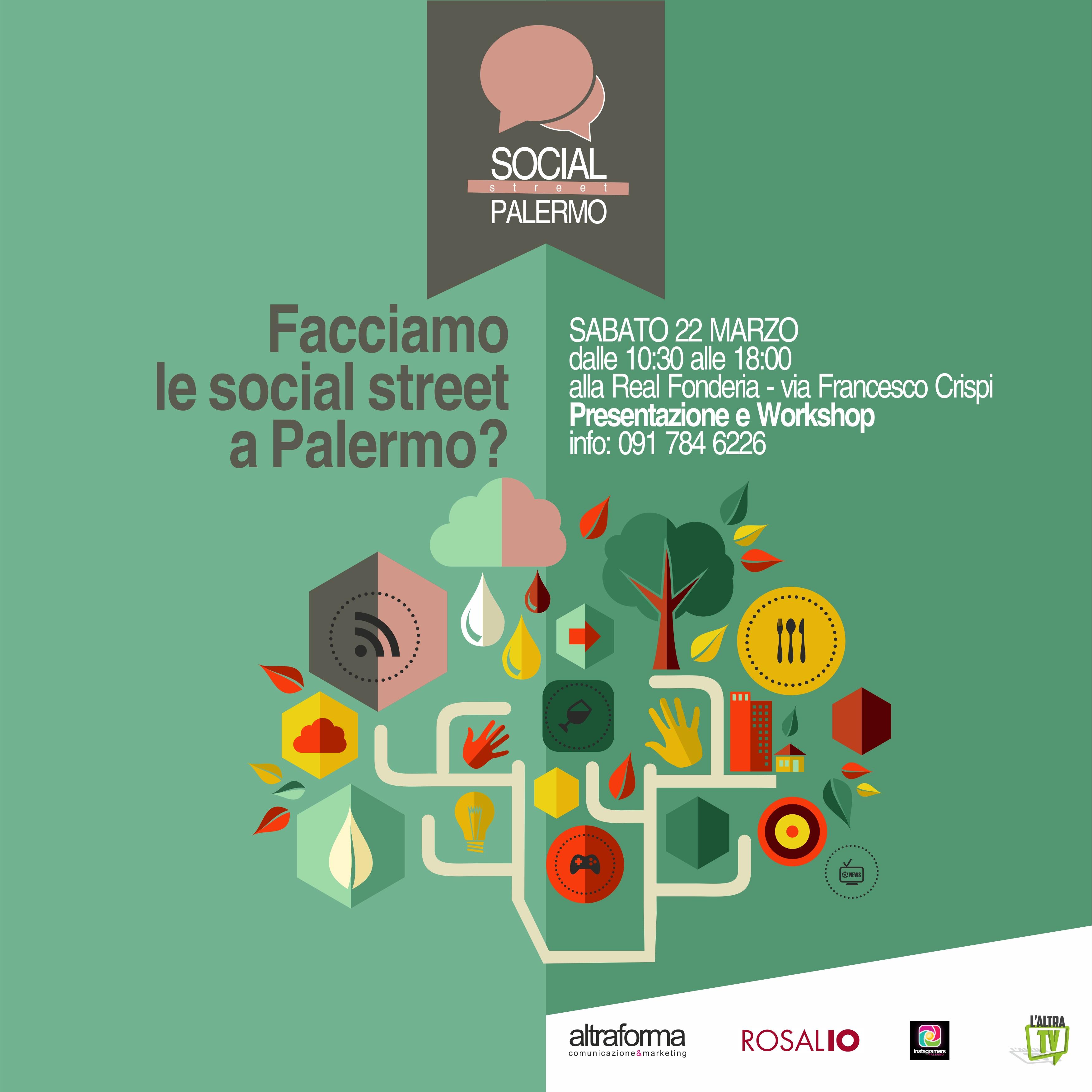 IgersPalermo media partner per le Social Street