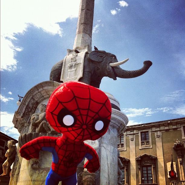 Spider Man visita l'Italia con Instagramers Italia e ScreenWeek