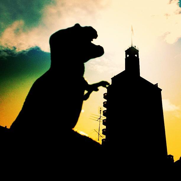 Anche osnuflaz e il suo T Rex a Torino per il secondo Instameet Instagramers Italia