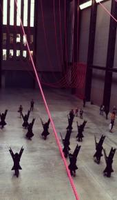 TaTe Gallery, Londra. Performance di Marlon Griffith