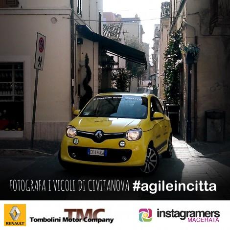 Agile in città: un challenge alla scoperta della città con Twingo
