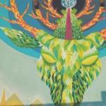 Un dettaglio di un murales a Racale (Lecce), ph. @lafra___