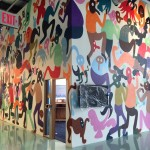 Un mural dell'artista Chris Lux