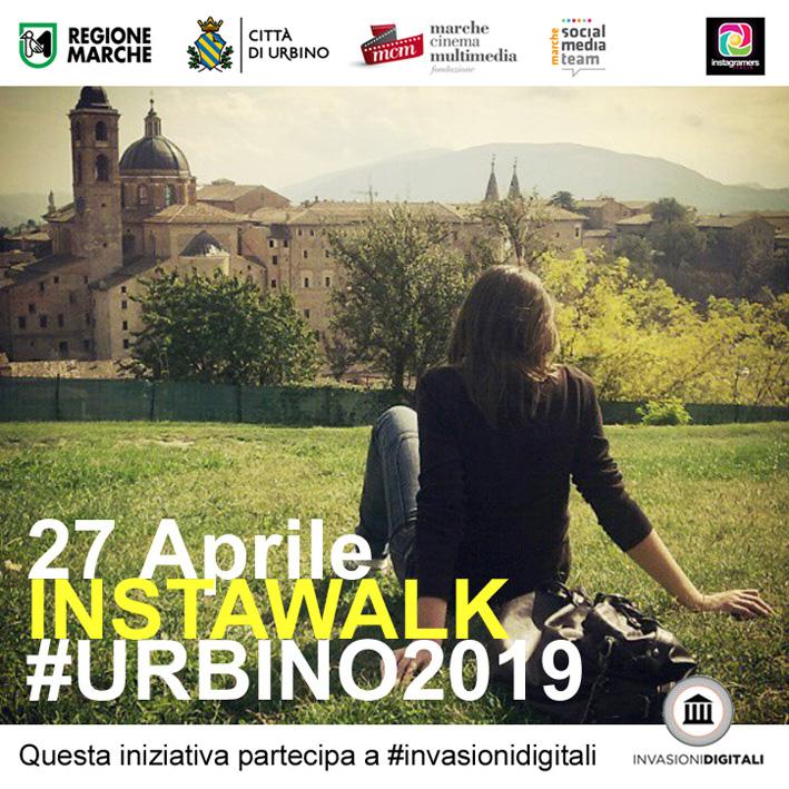 Instawalk per le strade di #Urbino2019