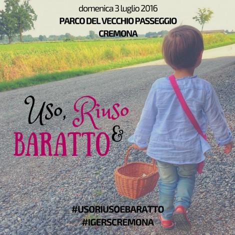 """Un challenge vintage per """"Uso, riuso e baratto"""" a Cremona"""