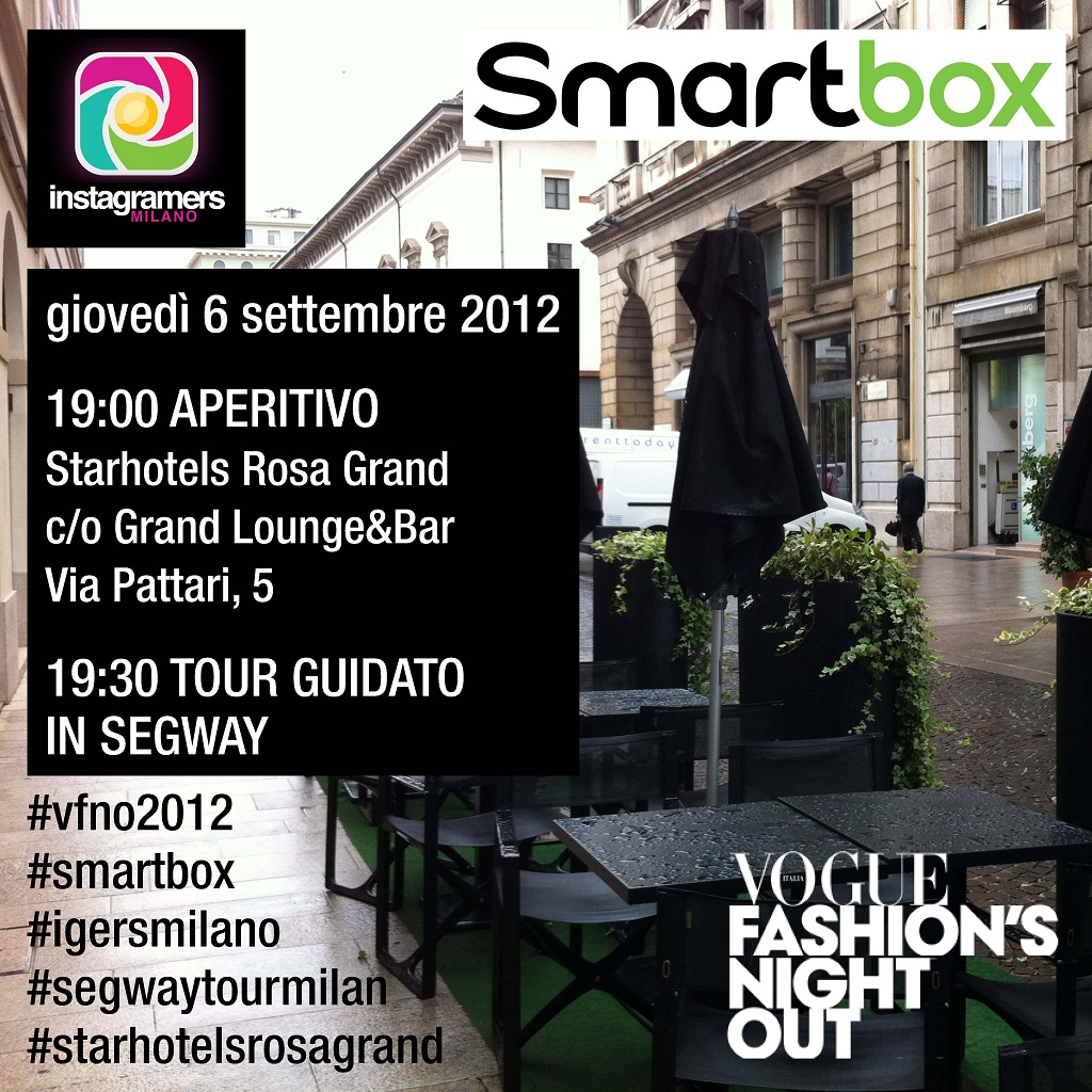 Vogue Fashion's Night Out con Igersmilano