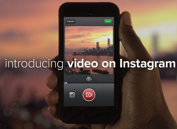 Instagram versione 4.0: con la funzione Cinema arrivano i video!