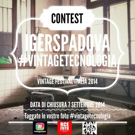 IgersPadova presenta il challenge Vintage Festival Italia 2014
