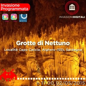 Invasione Digitale Grotte di Nettuno Alghero