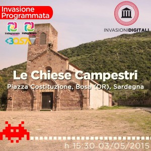 Invasione Digitale Chiese campestri Bosa