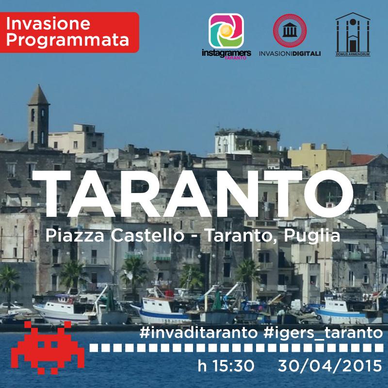 Invasioni Digitali a Taranto