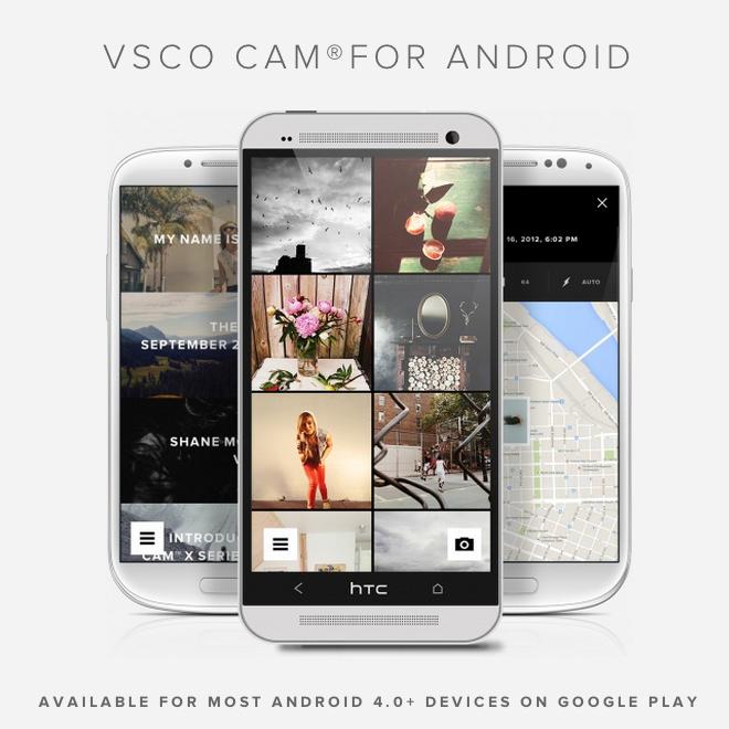 VSCO Cam approda su Android: ve lo presentiamo.