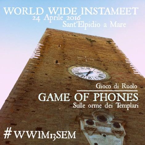 #GameOfPhones con Instagramers Fermo al WWIM13
