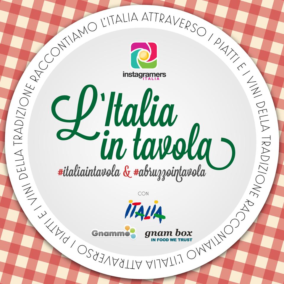 Abruzzo in tavola su instagram