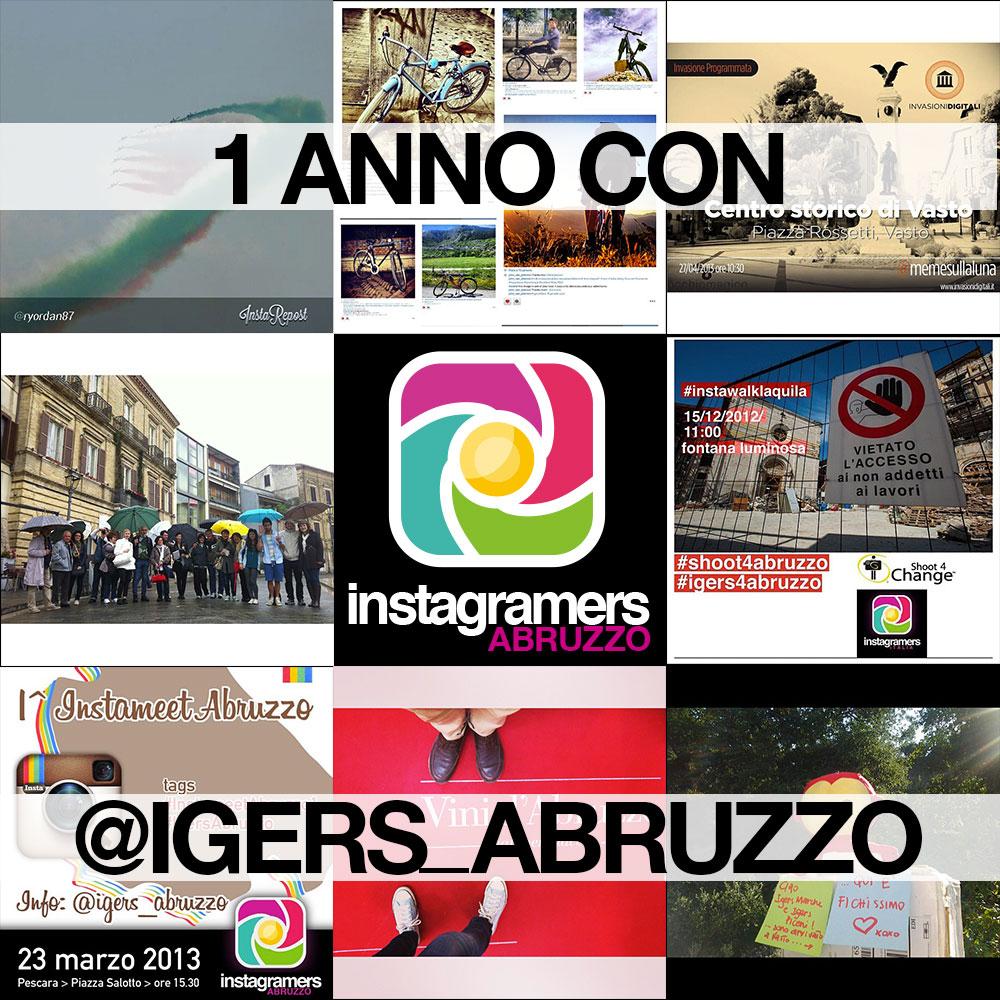 Un anno con Instagramers Abruzzo