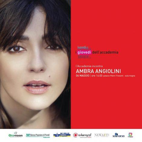 Igers Frosinone incontra l'artista Ambra Angiolini