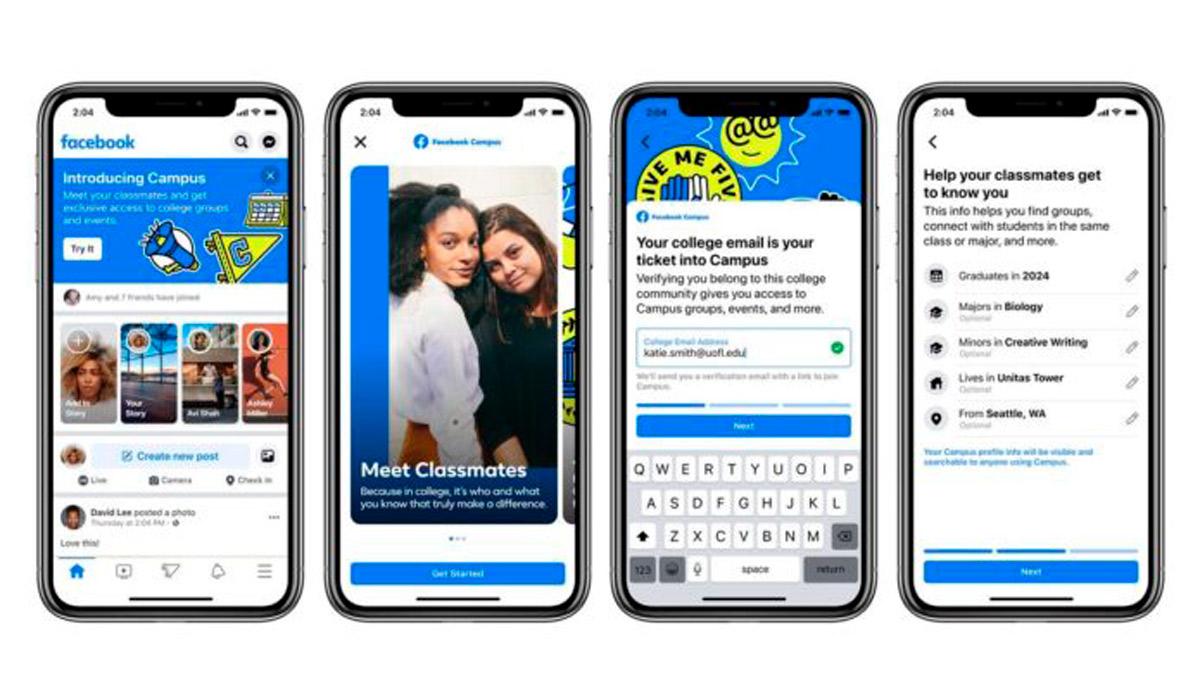 Facebook Campus la nuova sezione per studenti