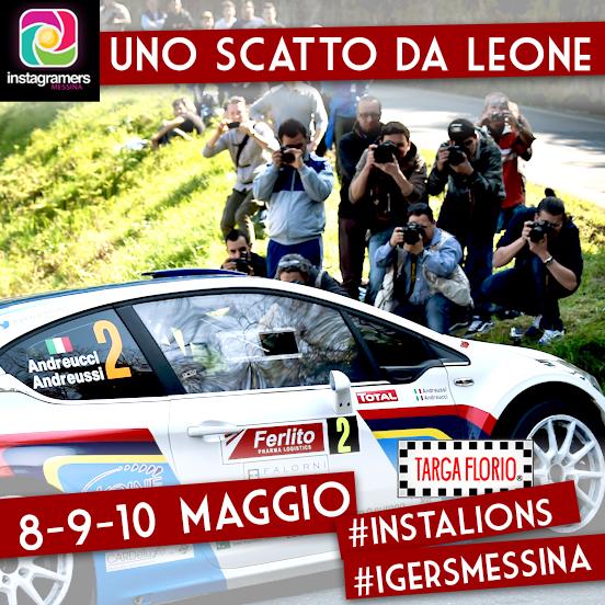 """""""Uno scatto da Leone"""", con igers_messina al Targa Florio 2014"""