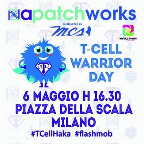 Igersmilano per apatchworks al T-Cell Warrior Day