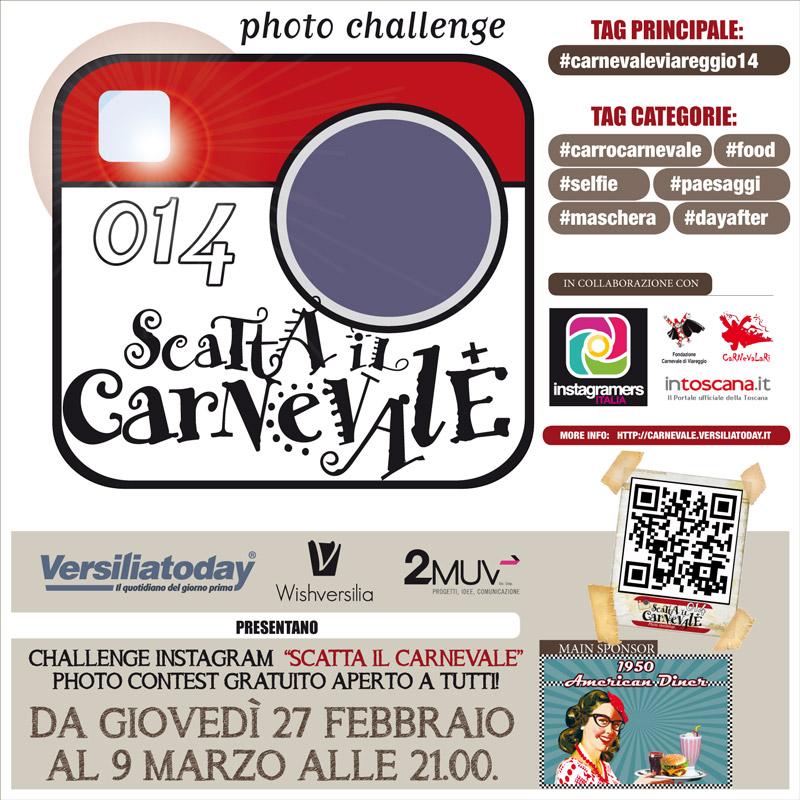 """Challenge fotografico """"Scatta il Carnevale 2014"""""""