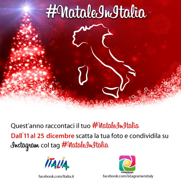 Natale in Italia: Raccontaci il tuo Natale con Instagram