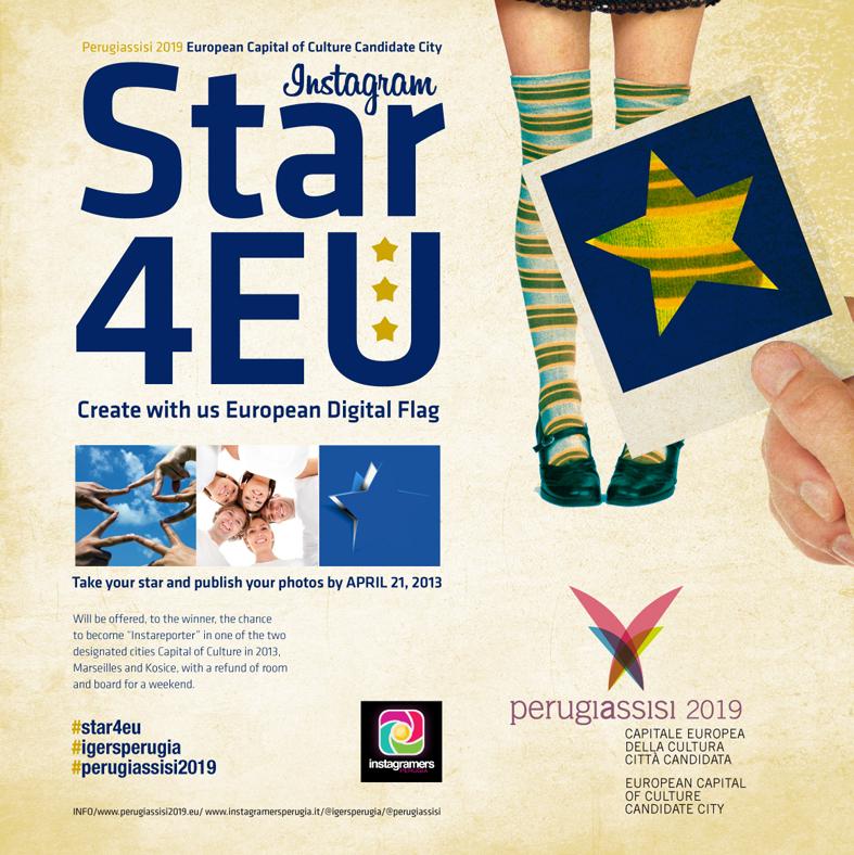 Star4EU per Perugia Capitale della Cultura 2019