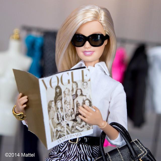 @barbiestyle - che sfoglia Vogue
