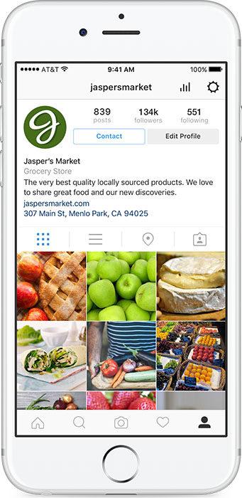 Esempio Profilo Instagram Aziendale