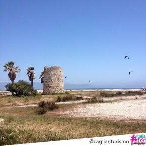 foto scelta per #italia365 – Lungomare di Cagliari – @cagliariturismo